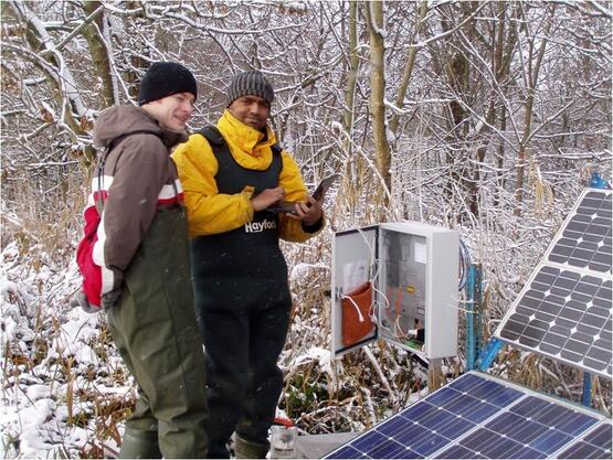 [Translate to German:] Geo- and Hydrological Monitoring